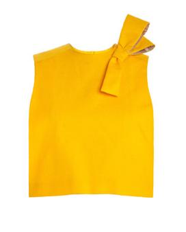 Alexandr Kondakov Bow Top yellow www.modaoperandi.com