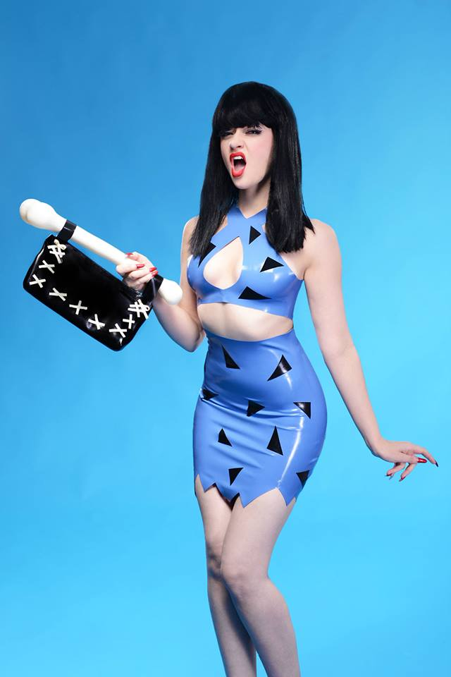 Betty Flintstone Sinderella Rockafella Kaori's Latex Luci Alice
