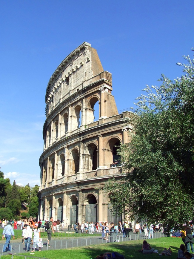 Colosseum outside Rome Italy
