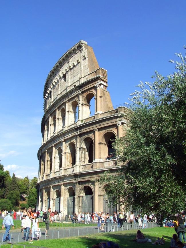 Colosseum outside Rome Italy