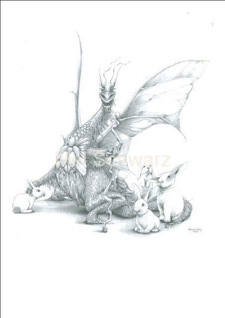 Dragon Bunnies Mel Schwarz