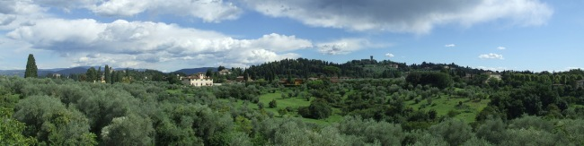 Florence landscape country Italy