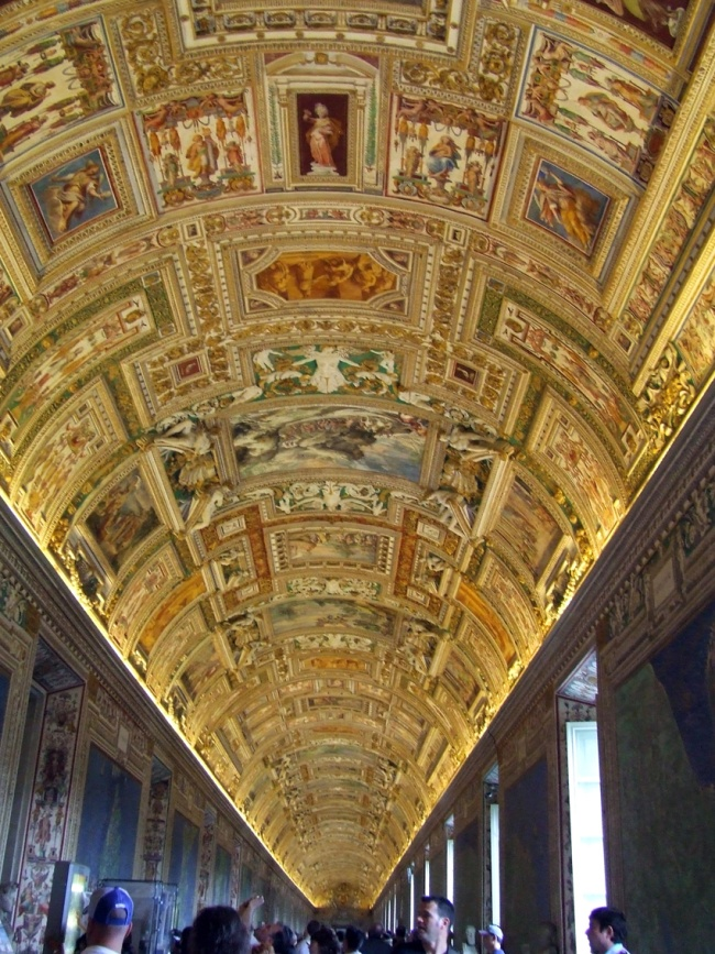 Inside the Vatican city Italy