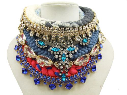 Jewels layering rope crystals www.jolitajewellery.wordpress.com