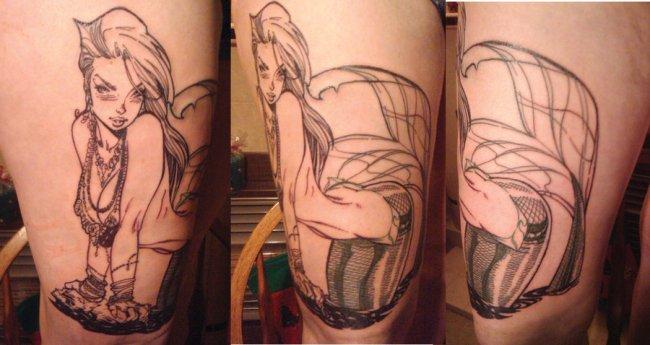 little_mermaid_tattoo_by_paulabstruse-d5lzisi