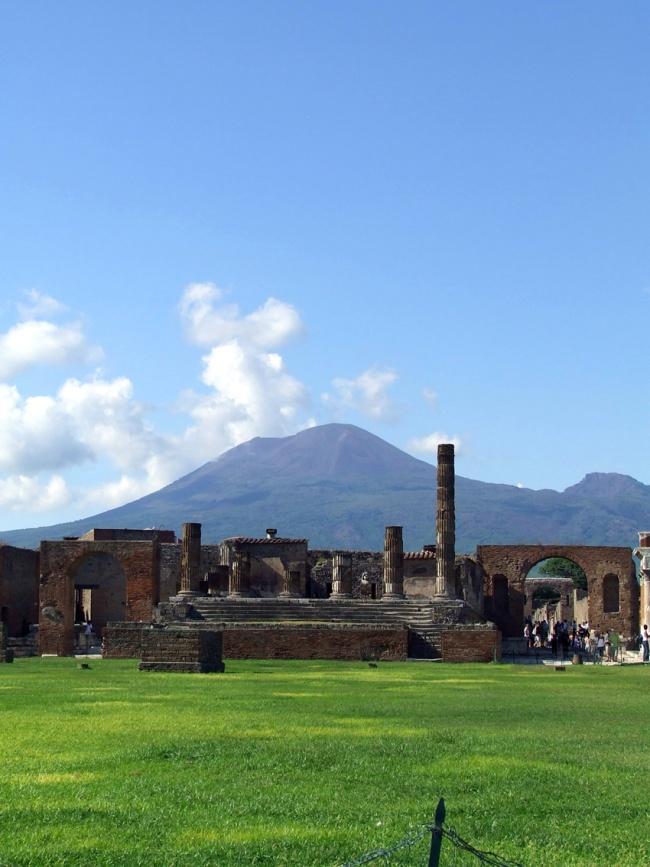 Pompei landscape vesuvius Italy