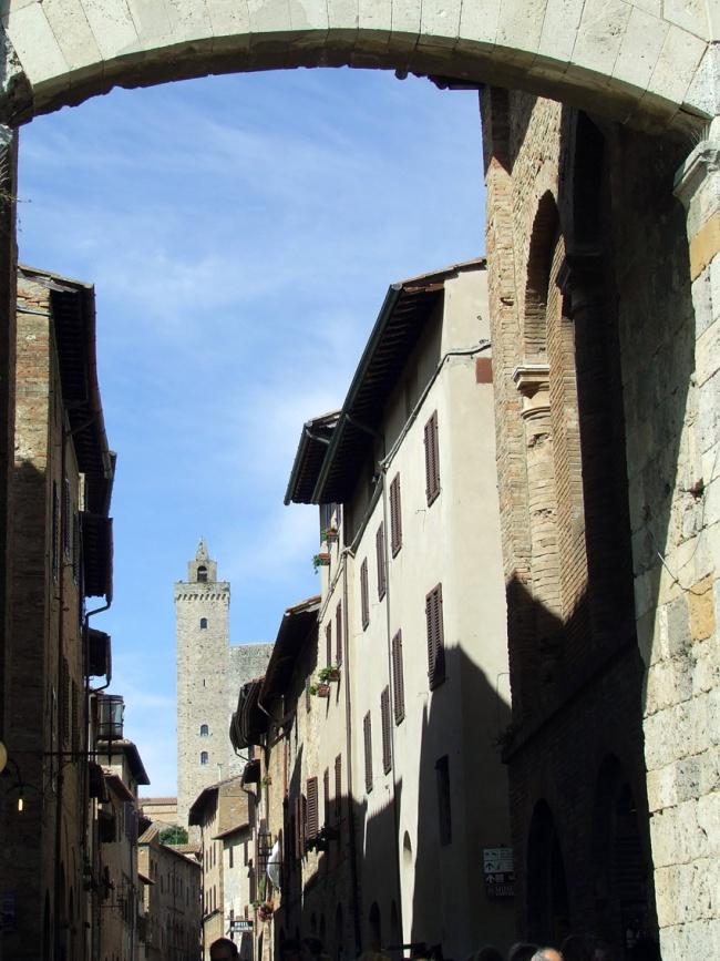 San Gimignano Tuscany Italy Streets
