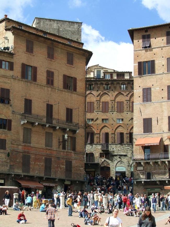 Town Centre Siena Tuscany Italy