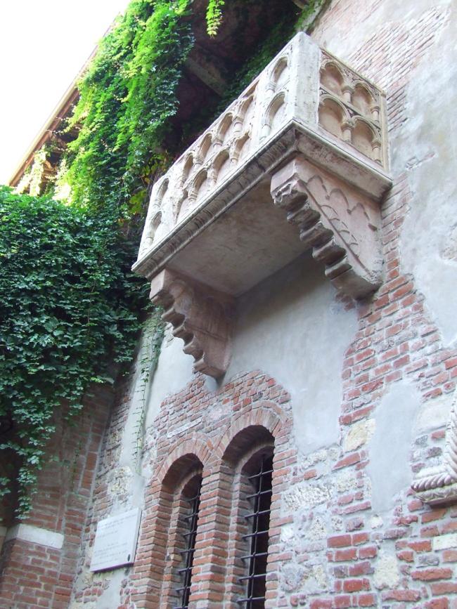 Verona Juliet's Balcony Italy