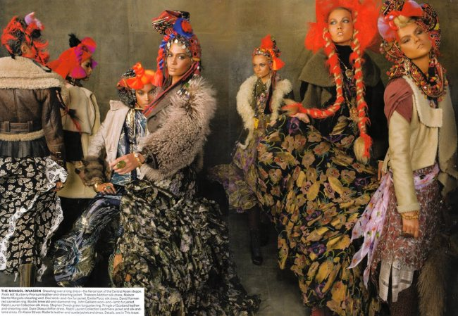 Vogue America September 2010 Steven Meisel2