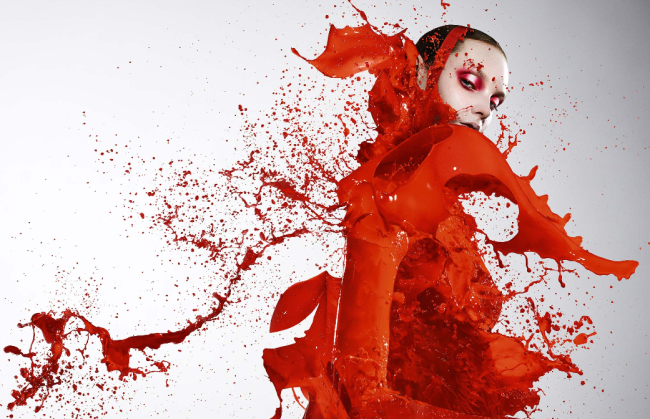 Iain-Crawford-red-editorial-paint