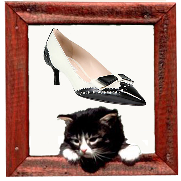 Miu Miu bicolor kitten-heel pump-www.vogue.com
