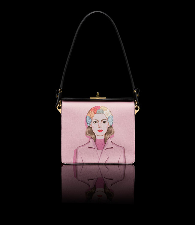 Prada Saffiano Print Shoulder Bag - $ 2800.00