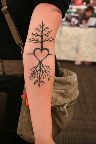 heart-roots-tree-tattoo