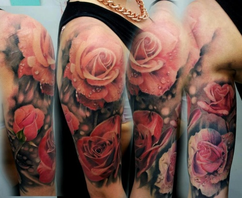 flower-floral-tattoo-the-tattooed-geisha-2
