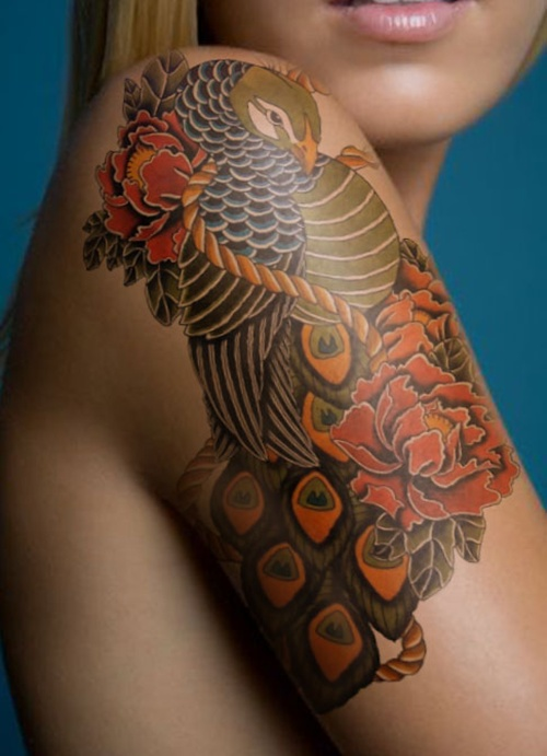 flower-floral-tattoo-the-tattooed-geisha-4