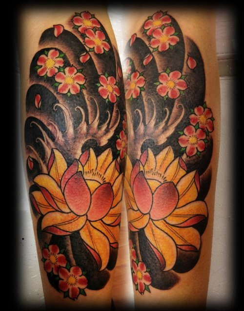 flower-floral-tattoo-the-tattooed-geisha-7