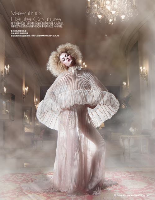 Harper's Bazaar China April 2011 Haute Couture Editorial Givenchy by Riccadro Tisci model Marlena Szoka photographer Benjamin Kanarek 008