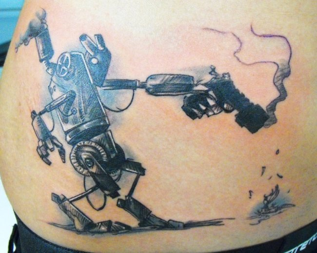 Robot-tattoo's-1
