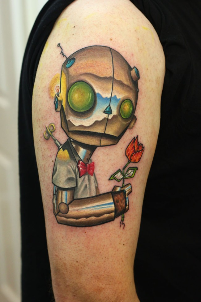 Robot-tattoo's-4