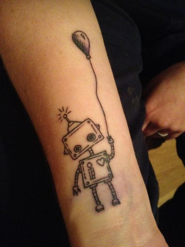 Robot-tattoo's-5