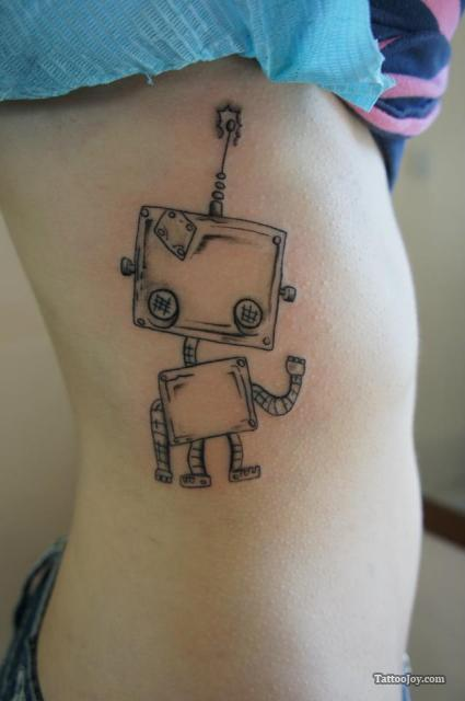 Robot-tattoo's-8