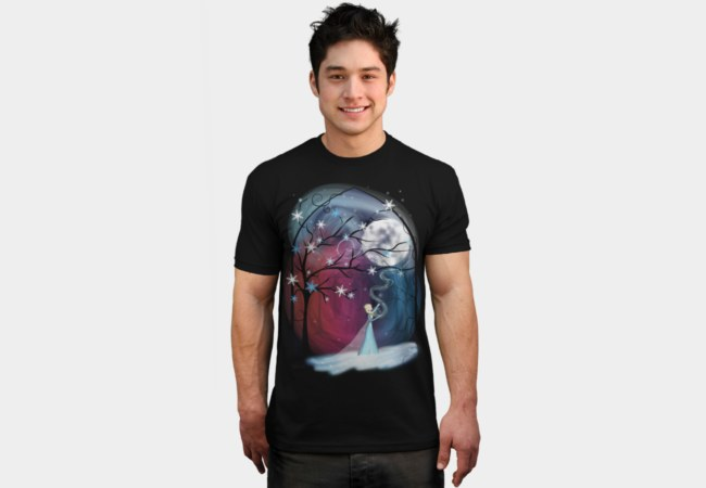 Wind-and-snow-under-the-moon-tshirt
