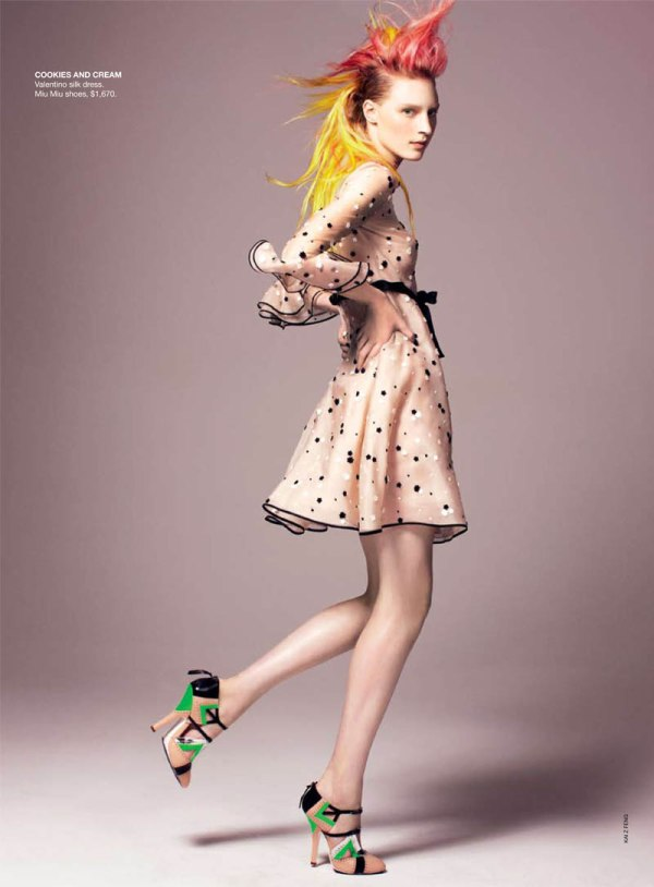 I want Candy Vogue Australia Fashion Editorial Love May 2011 Issue outfit inspiration photoshoot magazine 1