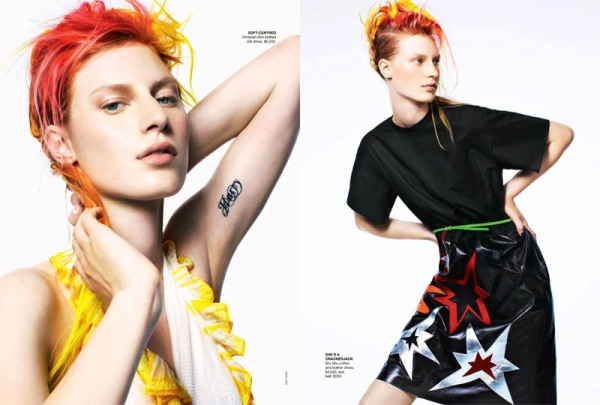 I want Candy Vogue Australia Fashion Editorial Love May 2011 Issue outfit inspiration photoshoot magazine 4