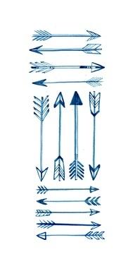 new-arrow-tattoos-designs
