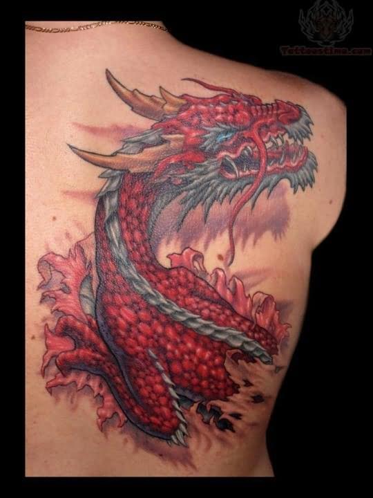 How to do dragon tattoo s thetattooedgeisha for Dragon back tattoo