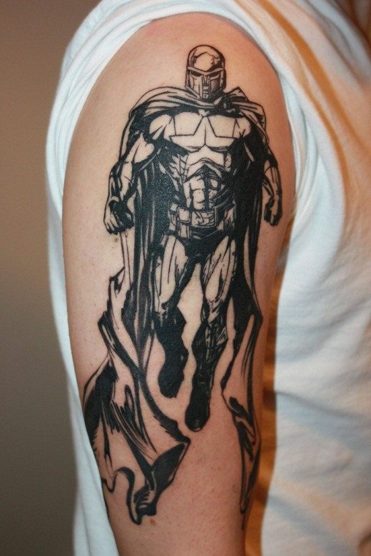 Superhero-Arm-Tattoos
