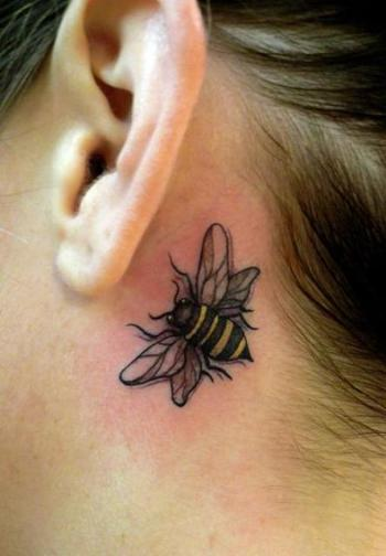 Bee-Tattoo-Behind-Ear