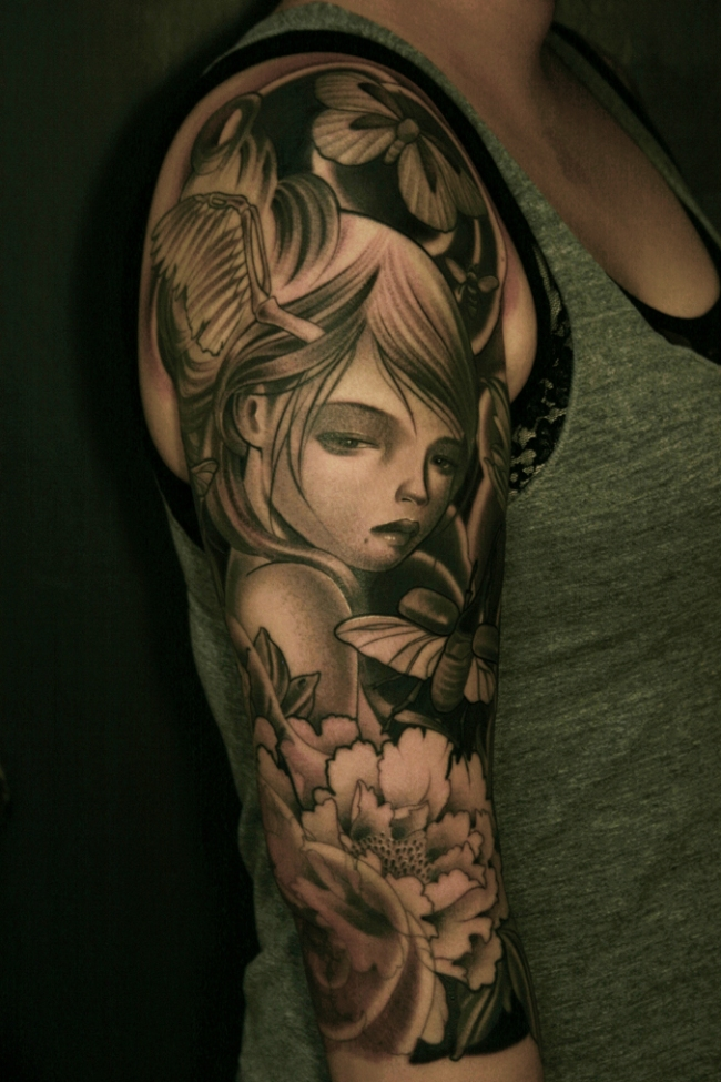 Audrey Kawasaki Tattoo's | thetattooedgeisha