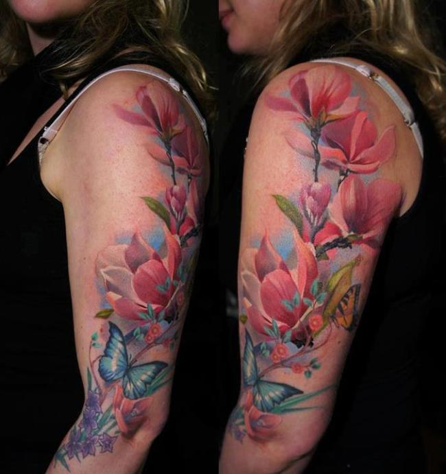 flower-floral-tattoo-the-tattooed-geisha-3