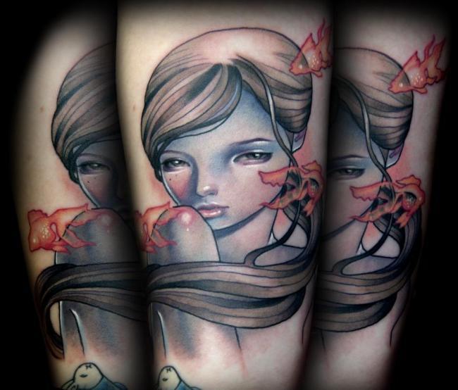 Tattoos-Design-Audrey-Kawasaki-Paintings